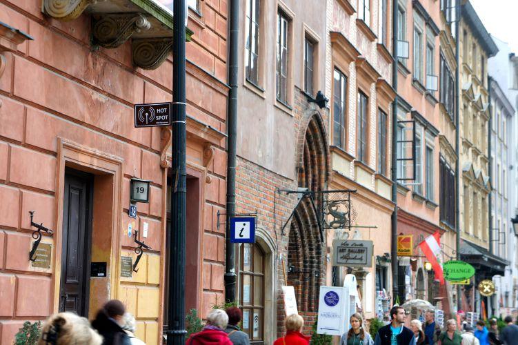 Altstädtischer Markt (Rynek Starego Miasta) in Warschau