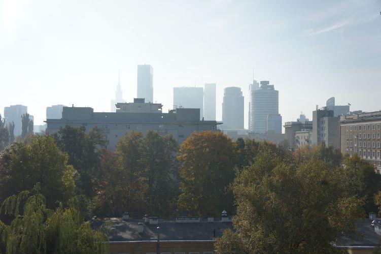 Wolkenkratzer in Warschau