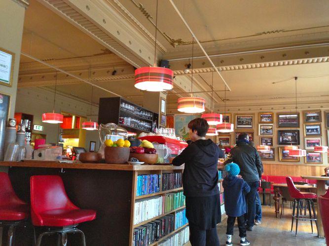 The Laundromat Cafe in Reykjavík