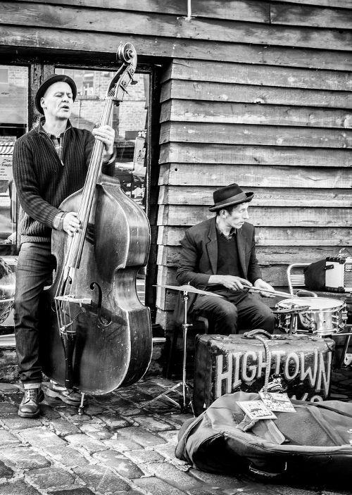Musiker auf dem Camden Market