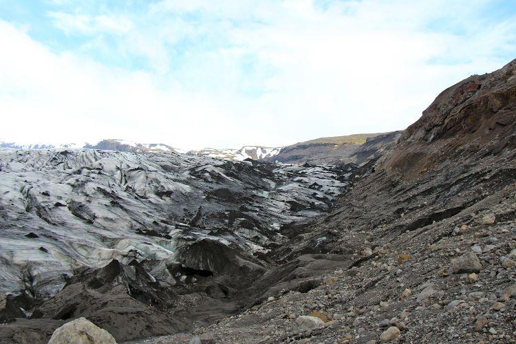 Wanderung auf dem Gletscher Sólheimajökull